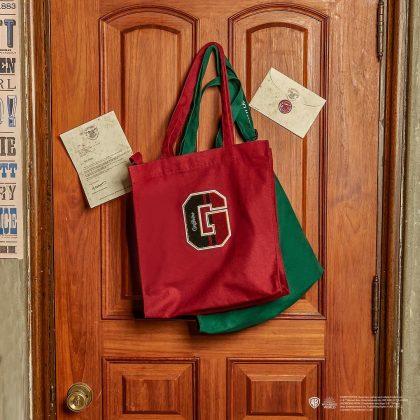 SPAO x 哈利波特:學院代表字母刺繡帆布包