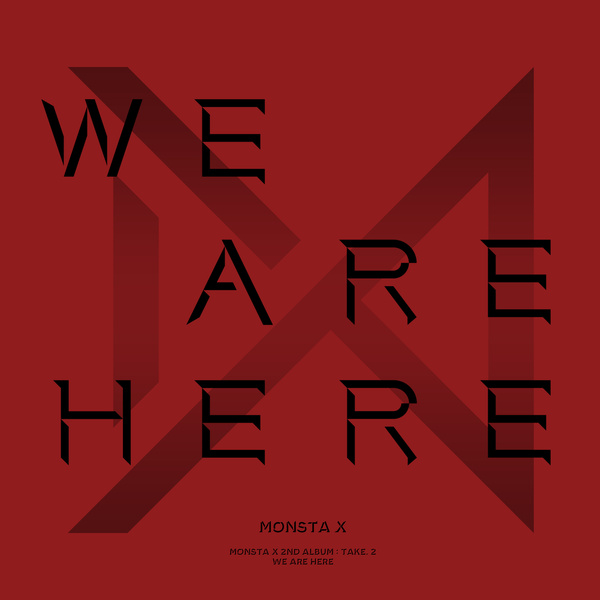 MONSTA X《WE ARE HERE》封面