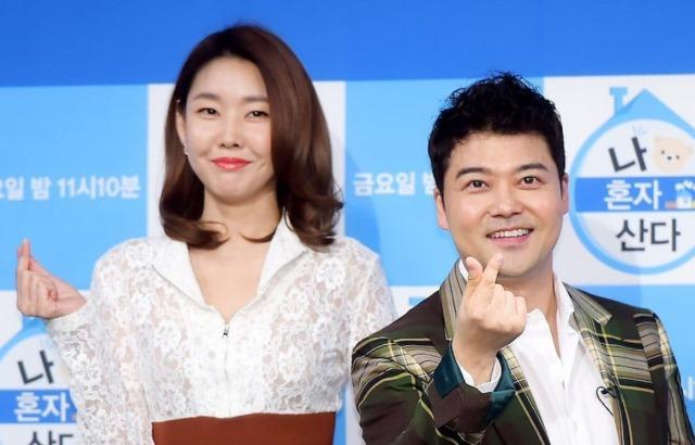 全炫茂、韓惠珍