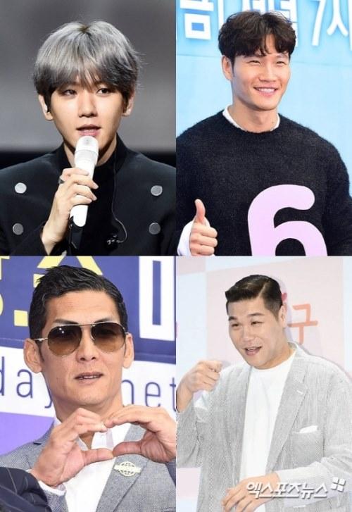 伯贤、金钟国...等人有望合作 JTBC 中秋试播综艺节目