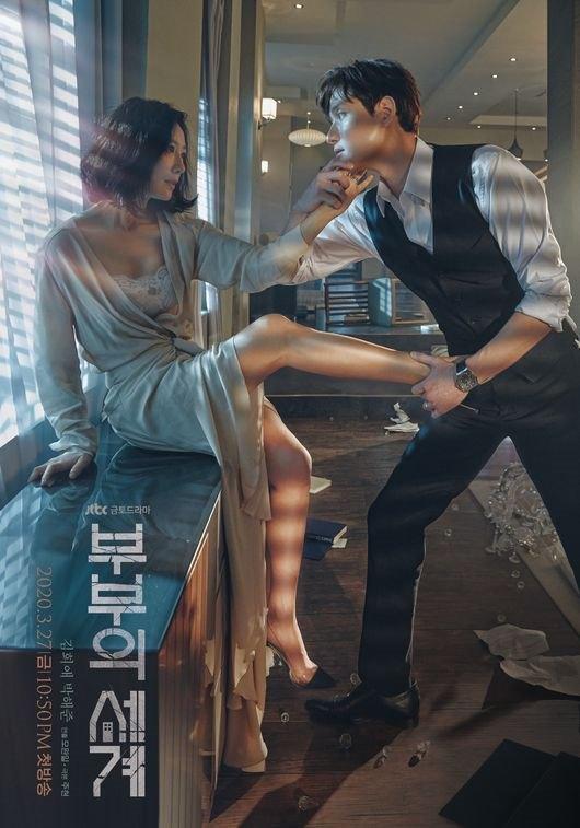 金喜愛、朴海俊《夫妻的世界》海報