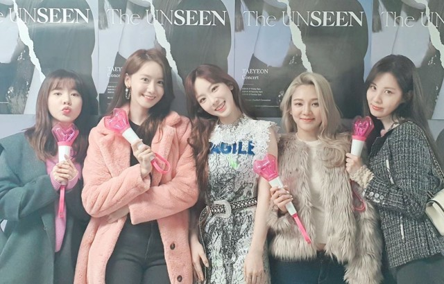 Sunny、潤娥、太妍、孝淵、徐玄