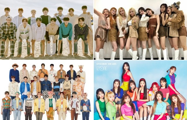 縮圖 / SEVENTEEN、TWICE、NCT、IZ*ONE