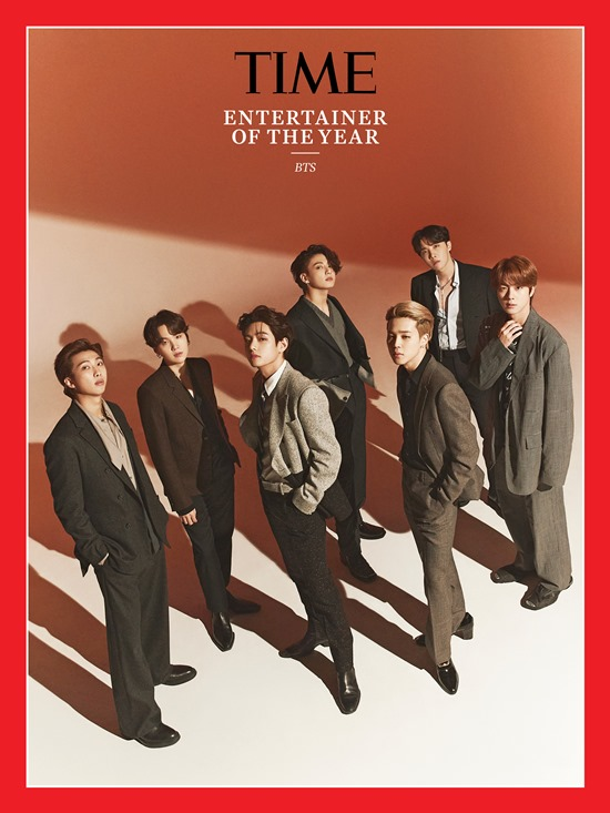 BTS《時代雜誌》(TIME)「2020 年度藝人」(Entertainer of the Year)