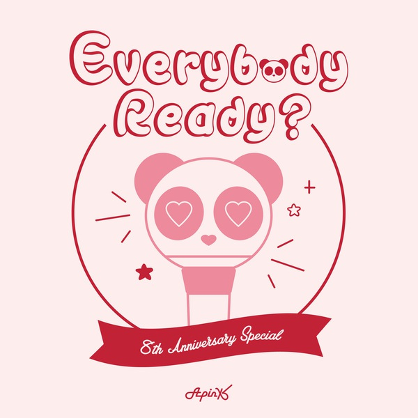A Pink《Everybody Ready?》封面