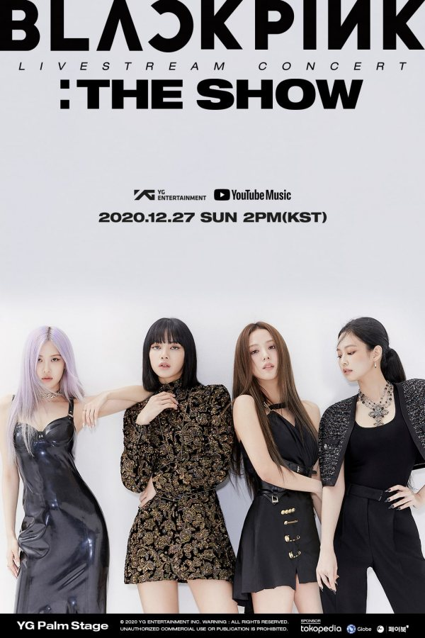 BLACKPINK《YG Palm Stage – 2020 BLACKPINK:The Show》海報