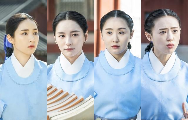 《新入史官具海玲》申世景、朴智炫、李艺琳、张由彬