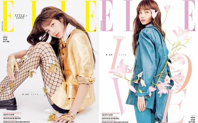 Lisa《ELLE Korea》封面