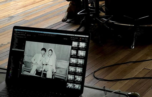 MBLAQ 的 G.O 与女友崔艺瑟分享婚纱侧拍照与影片