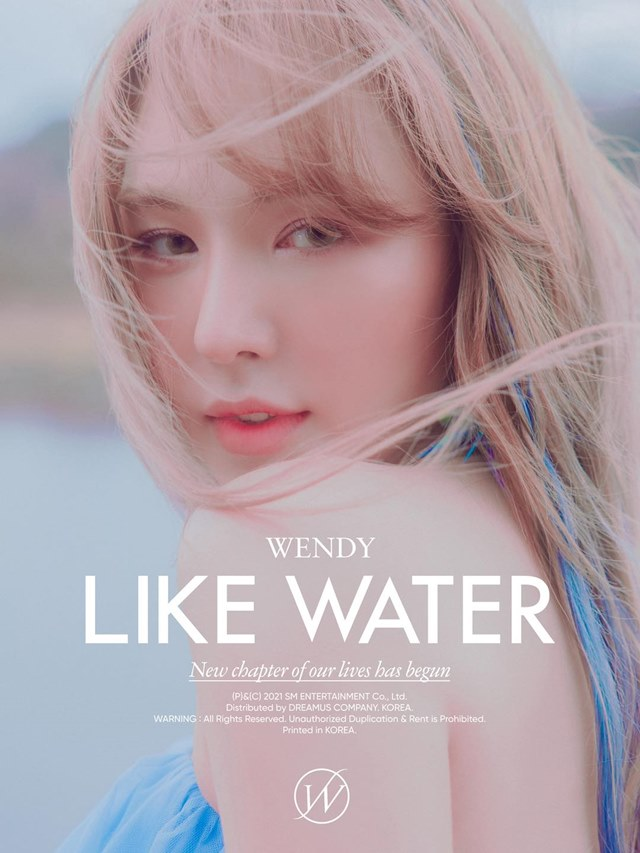 WENDY《Like Water》宣传照