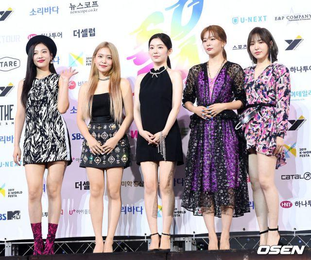 Red Velvet《2019 Soribada Best K-Music Awards》