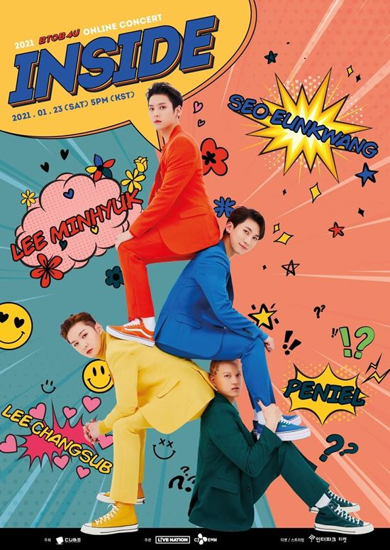 BTOB 4U 演唱会海报