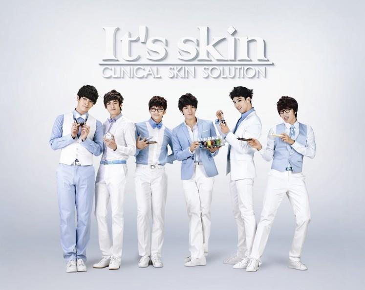 2PM 代言 It's Skin