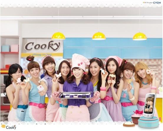 少女時代 2010 Cooky CF