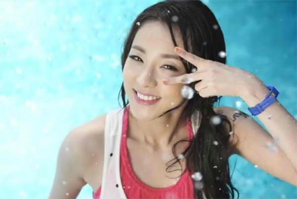 2NE1 Dara 公开新曲编舞?
