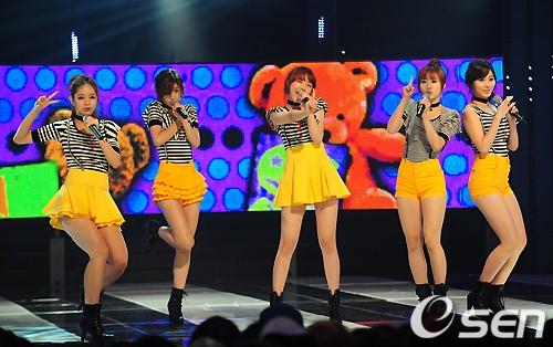 Girl's Day 新曲连续大成功