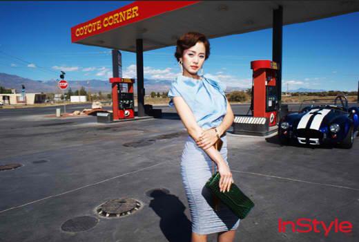 金泰熙 In Style 杂誌拍摄
