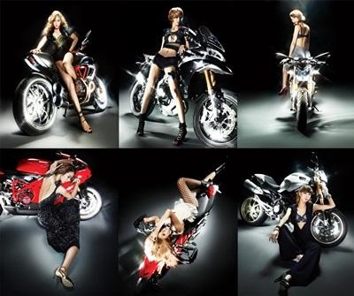 Nine Muses 拍摄杂誌