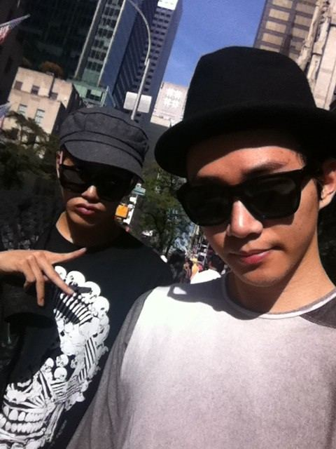 俊昊和埈秀Jun兄弟推特二