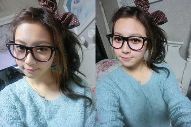 Yura:久违的眼镜自拍