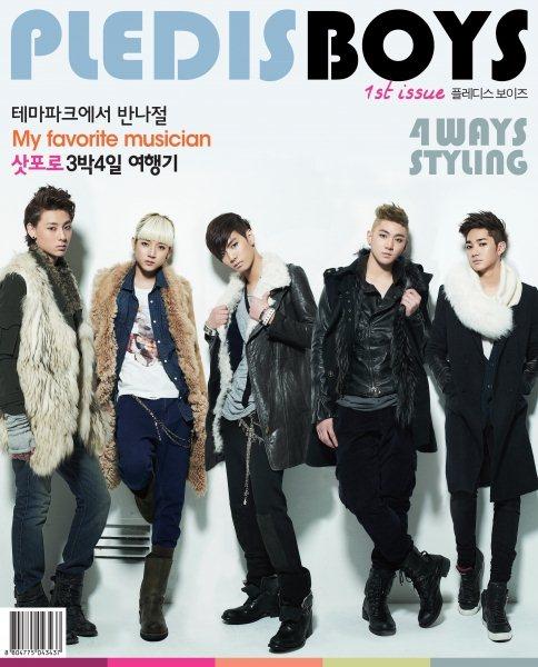 NU'EST 上了杂誌封面