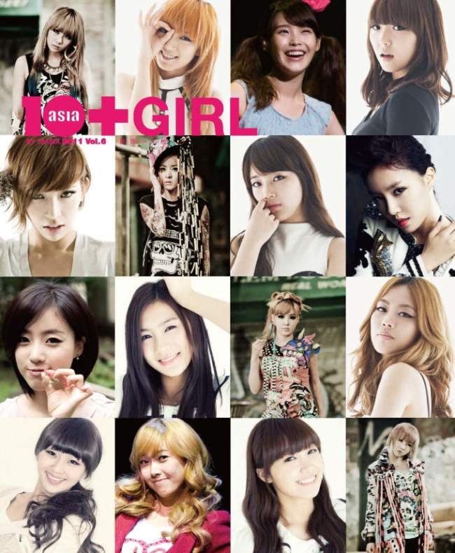 10+Girl 国际中文版发行!