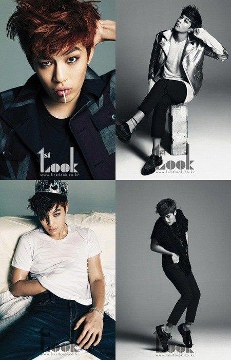SE7EN x 1st Look Apr.