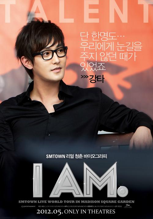 I AM. 个人海报 — Kangta