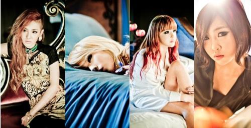 2NE1 I Love You 舞蹈版影片