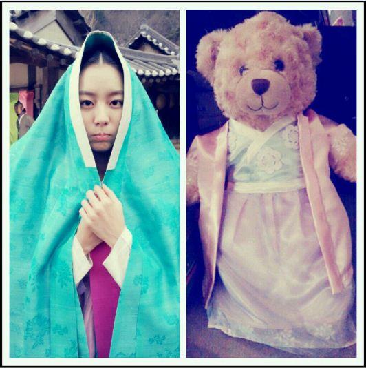 UIE:舞妍收到熊娃娃了
