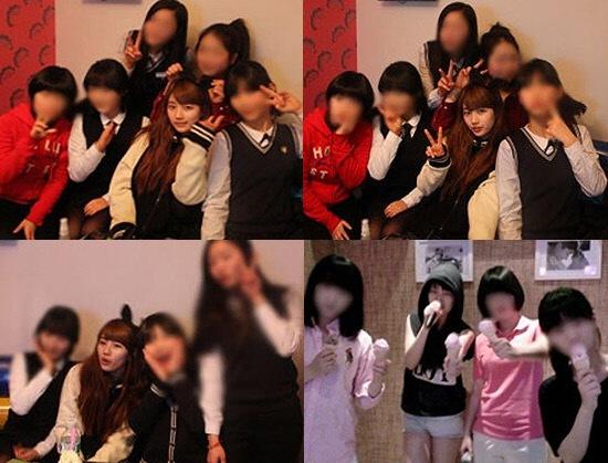 与朋友去 KTV 的 Suzy