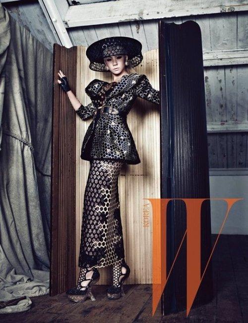 CL 英国拍摄 W Korea 画报