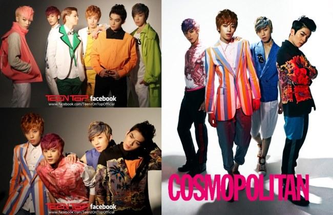 TEEN TOP@cosmopolitan 四月