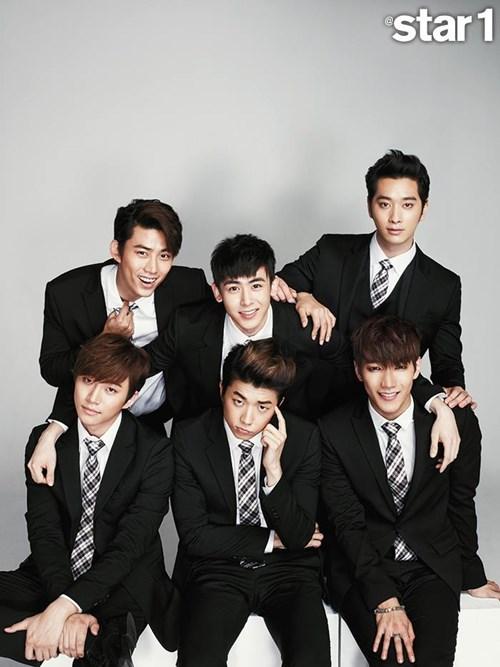 2PM @star1 展现成熟魅力