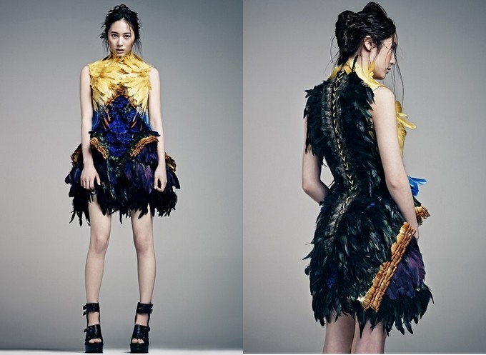 Krystal 的时尚画报