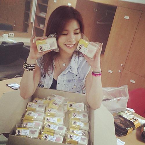 Ailee 出道500日纪念照