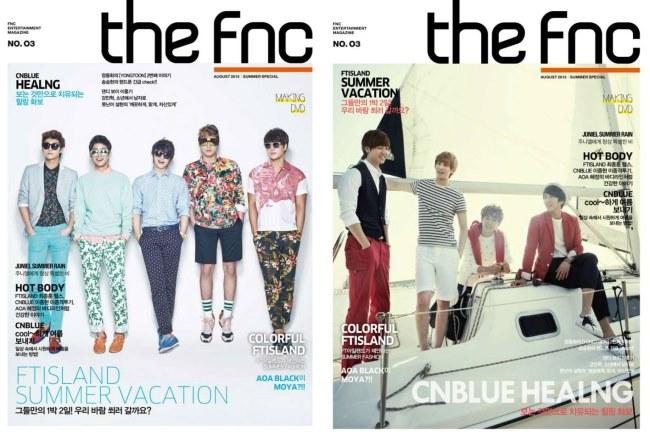 FNC 杂誌推夏日特别刊