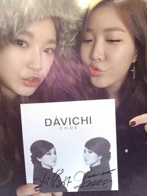 Davichi 清纯回归自拍
