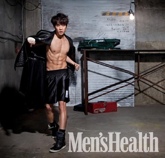 旼赫 Men's Health 画报 (2014.02)
