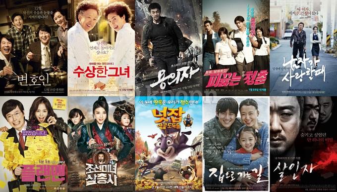 2014.01 韩国电影十强