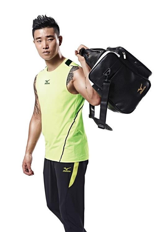 Gary 代言运动品牌 Mizuno