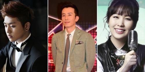 Sam Kim、柳熙烈、Kwon Jin Ah