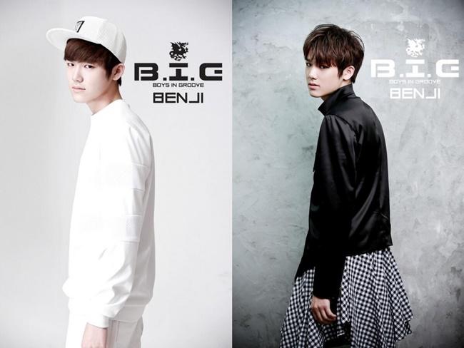 新團 B.I.G 成員 BENJI