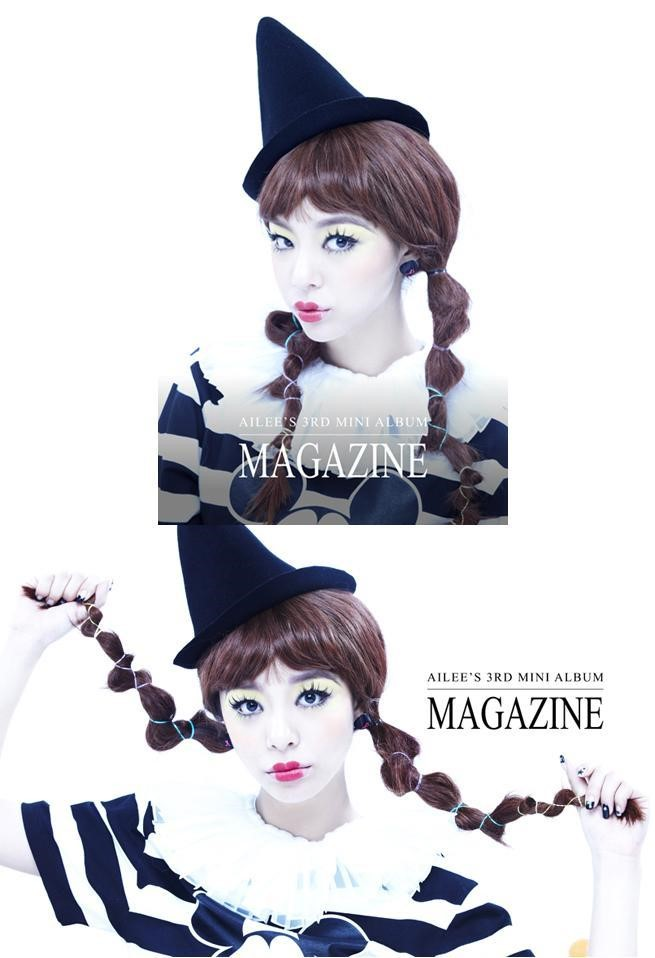 Ailee 迷你三輯《Magazine》概念照