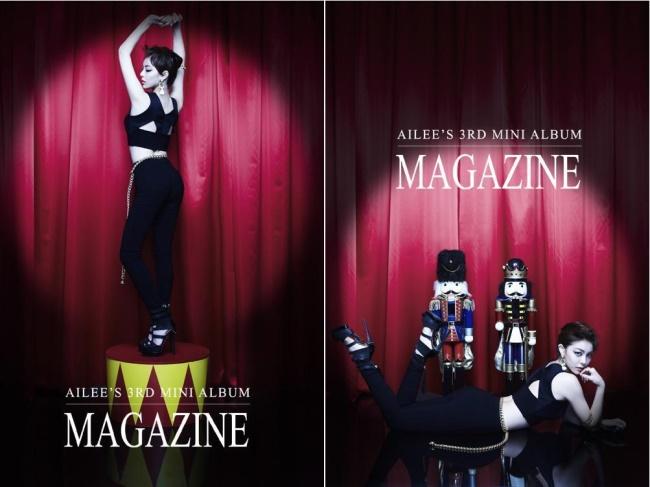 Ailee 迷你三輯《Magazine》第二波概念照