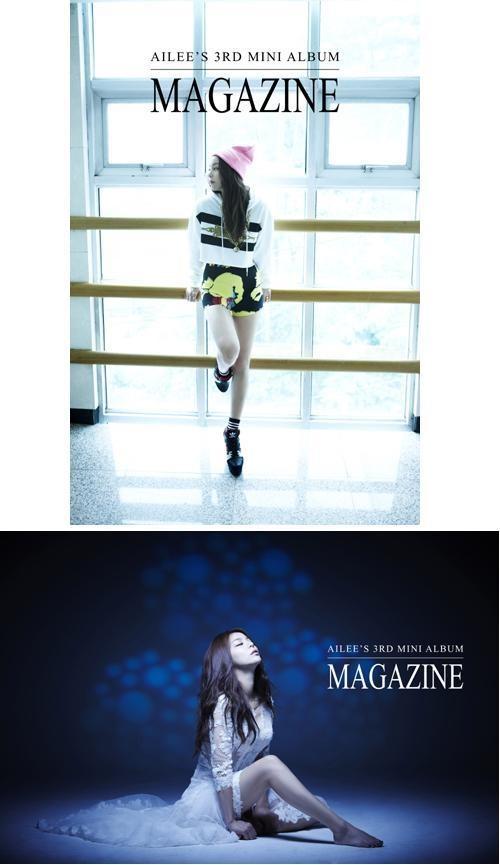 Ailee 《Magazine》第三波概念照