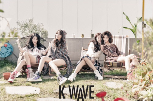 Girl's Day 的 K WAVE 畫報