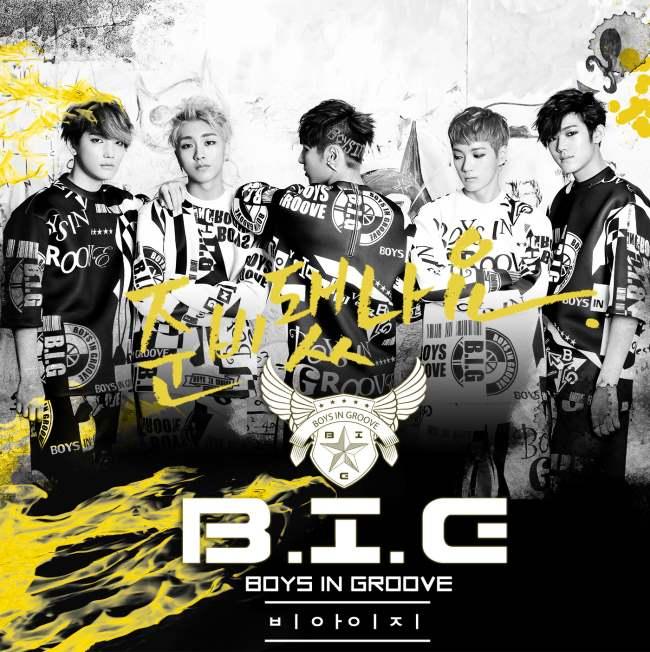 B.I.G《準備好了嗎?》封面
