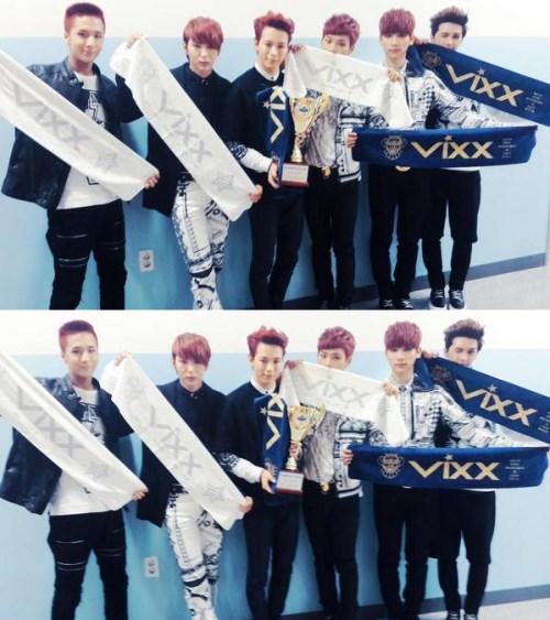 "VIXX ""秀冠军"" 一位认证照"