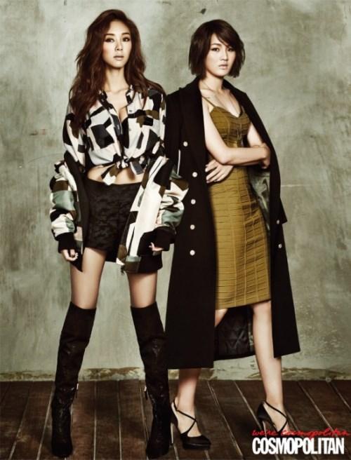 G.Na、朴胜熙 Cosmopolitan 画报 (2014.11)